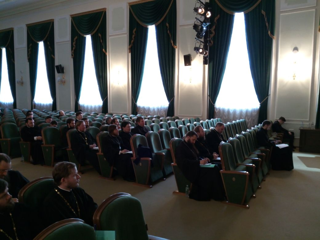 Участие проректора по воспитательной работе семинарии в семинаре Учебного комитета РПЦ